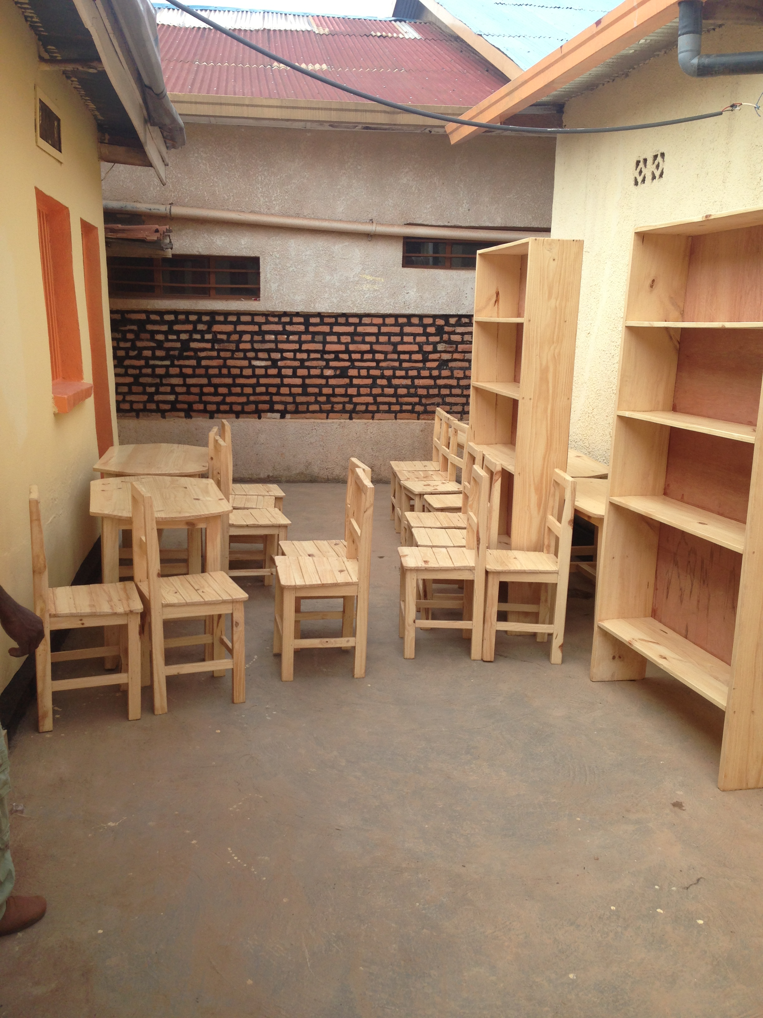 kigali reading center the furniture is coming kigali reading center